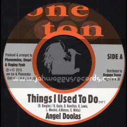 """One Ton-7""""-Things I Used To Do / Angel Doolas + Jah Will / Prince Levy"""