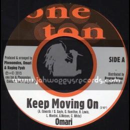 "One Ton-7""-Keep Moving On / Omari + A Jah / Phocas"