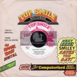 "Top Smile Records-7""-Highest Grade / Derrick Parker + Lyric Designer / Little Jordie"