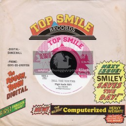 """Top Smile Records-7""""-Tell The Youths / S Kaya"""