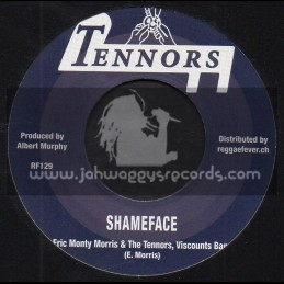 """Tennors-7""""-Shameface + Little Bit Of This / Eric Monty Morris And The Tennors , Viscounts Band"""