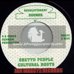 """REVOLUTIONARY SOUNDS-7""""-GHETTO PEOPLE / CULTURAL ROOTS"""