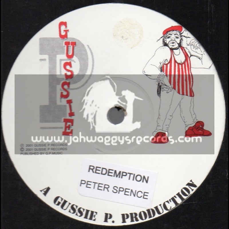 """Gussie P-12""""-Redemption / Peter Spence + Comma Comma / Robbie V"""