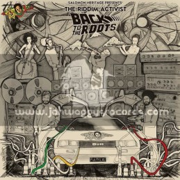 """Salomon Heritage-Double 12""""-Back To The Roots / The Riddim Activist"""