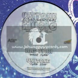 "Unitone Soundimentional Music-12""-Haile Iyah / Ras Iyah + What Happened To The Love / Idren Natural"