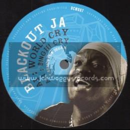"Dub Conductor Music-12""-World Cry / Blackout Ja Feat. Bunnington Judah + Hunting Warrior / Dub Conductor"