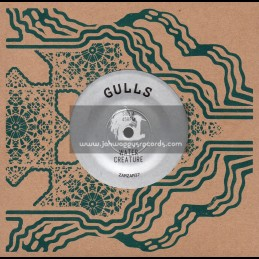 "ZamZam-7""-Water Creature / Gulls + Message To Rogg / Gulls Rhythm Force Feat. Rex Kirbys All Stars"