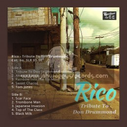 Striker Lee Records-10-Lp-Rico Tribute To Don Drummond
