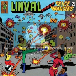 Greensleeves-Double-Lp-Linval Presents Space Invaders