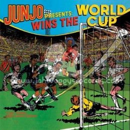 Greensleeves-Double-Lp-Junjo Presents / Wins The World Cup