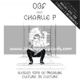 "O.B.F Records-12""-Sixteen Tons Of Dub / Charlie P + Culture Mi Culture / Charlie P"