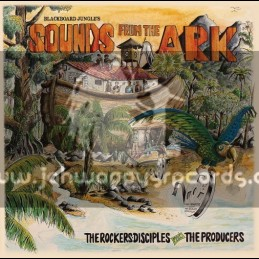 Blackboard Jungle-Lp-Blackboard Jungles Sounds From The Ark / The Rockers Disciples Meet The Producers