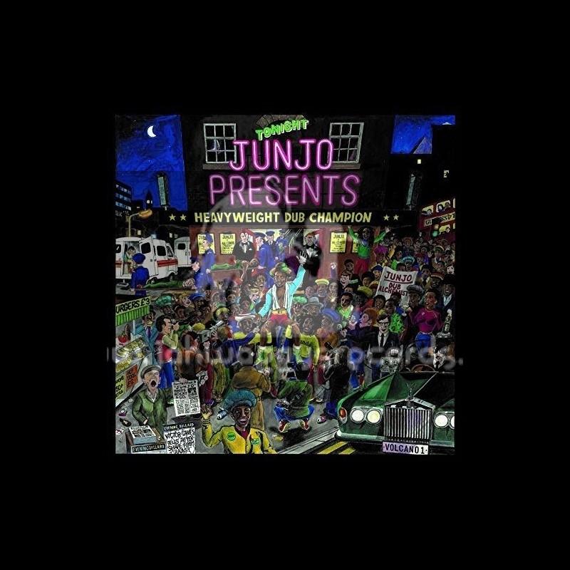 Greensleeves-Double-Lp-Junjo Presents / Heavyweight Dub Champion