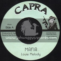 "Capra Records-7""-Mafia / Louie Melody"