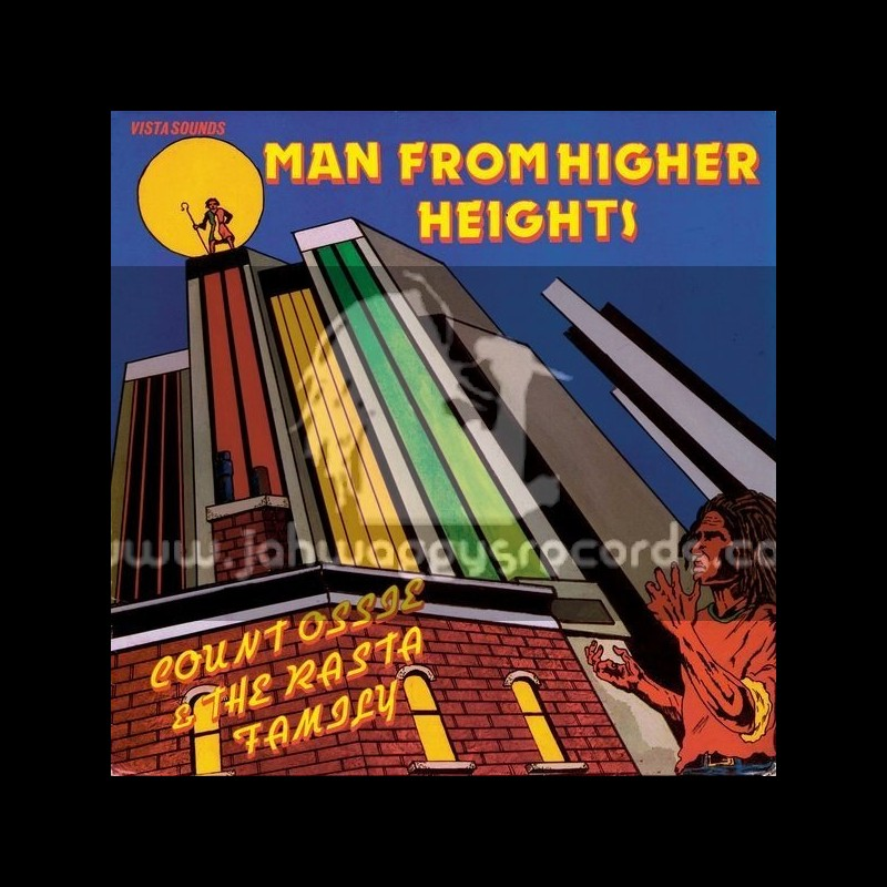 Soul Jazz Records-Lp-Man From Higher Heights / Count Ossie And The Rasta Family