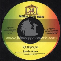 "Imperial House Music-7""-Go Before Me / Asante Amen"