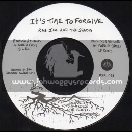 """Darker Shades Of Roots-7""""-Its Time To Forgive / Ras Ico And The Shades + The Reminder / The Shades"""