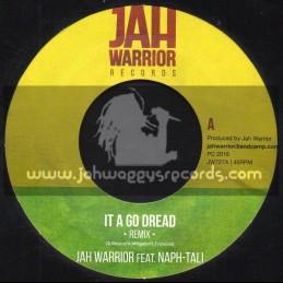 """Jah Warrior Records-7""""-It A Go Dread / Jah Warrior Feat. Naph-Tali"""