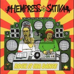 "Conquering Lion Records-7""-Rock It Ina Dance / Hempress Sativa"