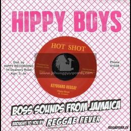 "Hot Shot-7""-Drumbago / Sam Sham + Keyboard Reggay / Hippy Boys"