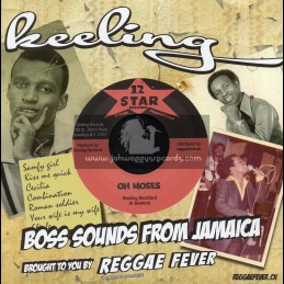 "12 Star Records-7""-Oh Moses / Keeling Beckford"