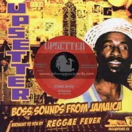 "Upsetter Records-7""-Start Over / The Gatherers"