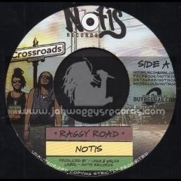 "Notis Records-7""-Raggy Road / Notis + Bless My Soul / Jessie Royal"