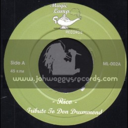 """Magic Lamp Records-7""""-Tribute To Don Drummond / Rico + Drop Pan / Crystalites"""