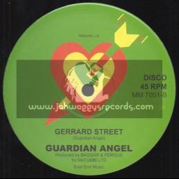 """Matumba Music-12""""-China Gate / Guardian Angel"""
