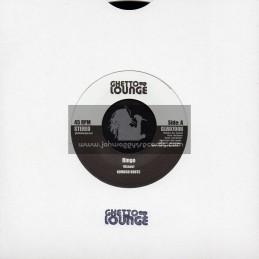 "Ghetto Lounge-7""-Ringo / Komuso Roots + Satta Binghi / Komuso Roots"