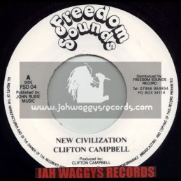 "FREEDOM SOUNDS-7""-NEW CIVILIZATION / CLIFTON CAMBELL"