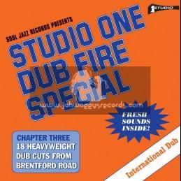 Soul Jazz Records-Double Lp-Studio One Dub Fire Special