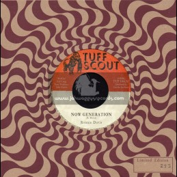 "Tuff Scout-7""-Now Generation / Ronnie Davis"