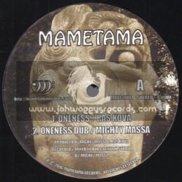 "Mametama-12""-Oneness / Ras Kova - Mighty Massa + Rise Up / Ras Kova - Chazbo"