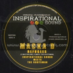 "Inspirational Sound-7""-Refugees / Macka B - Inspirational Sound Meets The Rootsman"