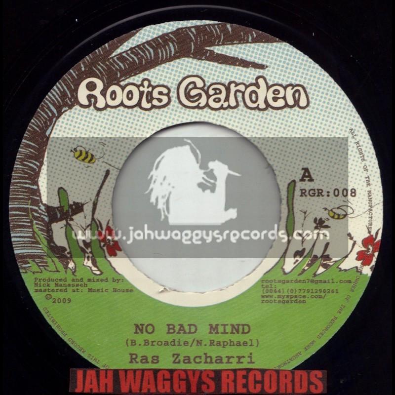"""ROOTS GARDEN-7""""-NO BAD MIND / RAS ZACHARRI"""