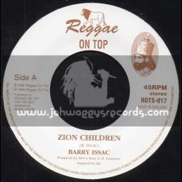 """Reggae On Top-7""""-Zion Children / Barry Issac"""