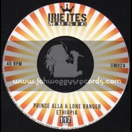 "Irie Ites Music-7""-Ethiopia / Prince Alla And Lone Ranger"