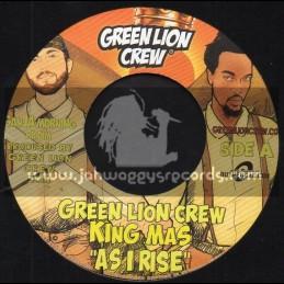 "Green Lion Crew-7""-As I Rise / King Mas + Ganja Morning / Mikey General & Mr Williams"