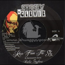 """Steely & Clevie-7""""-Rain From The Sky / Richie Spice"""
