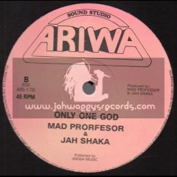 "Ariwa-12""-Only One God / Mad Professor & Jah Shaka - 1997"