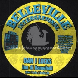 "Belleville International-7""-Ina Di Dancehall / Dan I Locks"