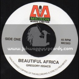 "Micron Music Limited-7""-Beautiful Africa / Gregory Issacs"