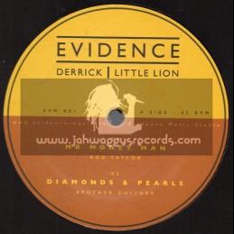 "Evidence Music-12""-Mr Money Man / Rod Taylor + Diamonds And Pearls / Brother Culture + Jah Children / Ranking Joe"