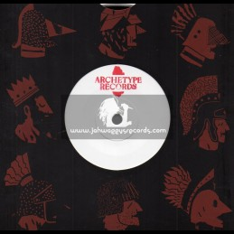 "Archetype Records-7""-Beat Down Babylon / Shimana Feat. I-Rebel"