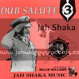 Jah Shaka Music-Lp-Dub Salute 3 / Jah Shaka Feat Willie Williams