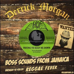 """Hop-7""""-Trying To Keep Me Down / Errol Dunkley + Send Request / Viceroys"""