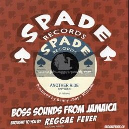 """Spade Records-7""""-Another Ride / Sexy Girls + Cannon Ball Special / Karl Bryan"""
