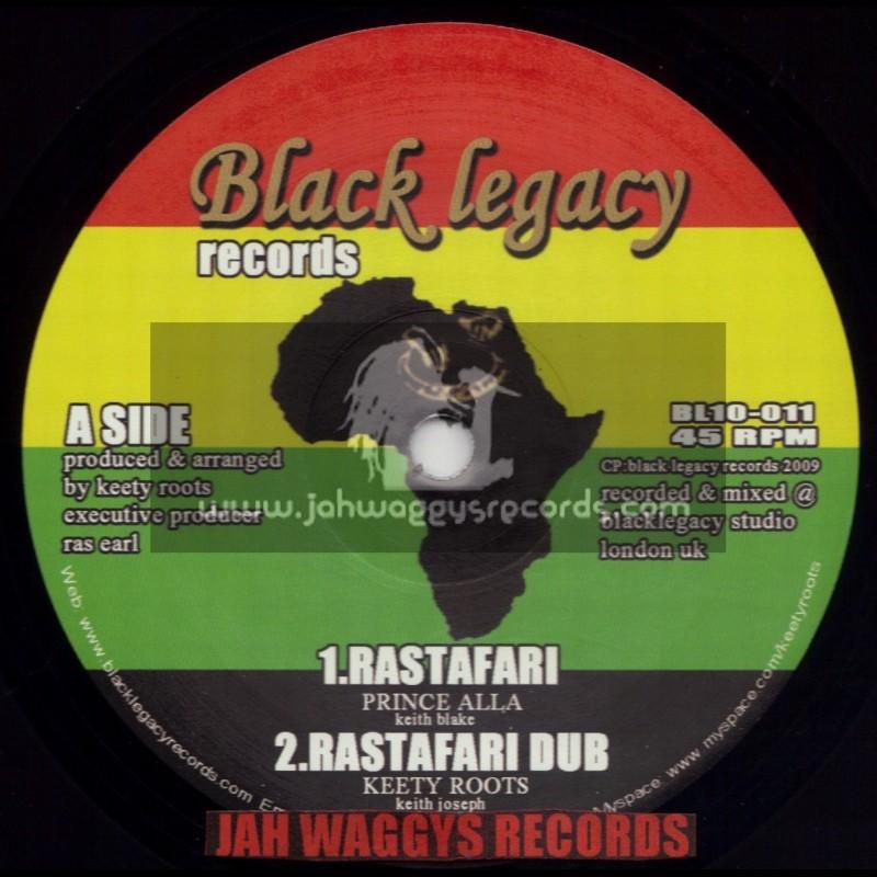 "BLACK LEGACY RECORDS-10""-RASTAFARI - PRINCE ALLAH (KEETY ROOTS)"