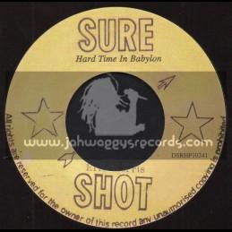 "Sure Shot-7""-Hard Time In Babylon / Eric Morris"